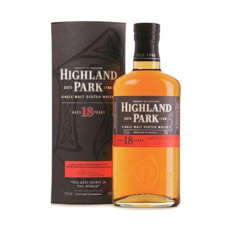 de34a609c68 Highland Park - 18 Year Old Single Malt Whisky - 750ml