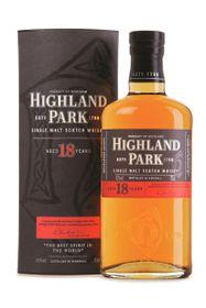 Highland Park - 18 Year Old Single Malt Whisky - 750ml
