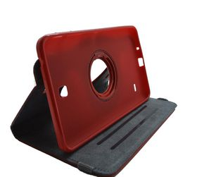 """Scoop Samsung Tab S2 9.7"""" Swivel Book Cover - Red"""