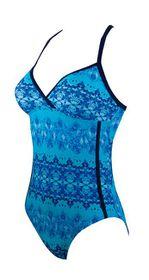 Women's Zoggs Ocean Jewel Crossback Swimming Costume