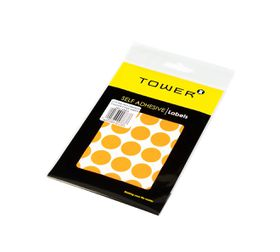 Tower C19 Colour Code Labels (Sheets) - Fluorescent Orange