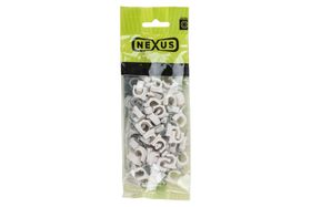 Nexus - Saddle Cable Round 8mm - 100 Piece