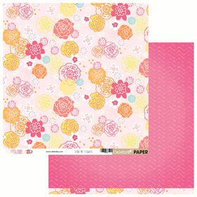 Celebr8 Let's Chat Double Sided Paper - Send Me Flowers (10 Sheets)