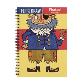 Mudpuppy Flip & Draw Pirates
