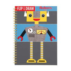 Mudpuppy Flip & Draw Robots