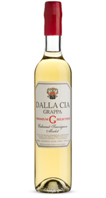 Dalla Cia - Grappa Aged-Premium Selection Cab Merlot - 500ml