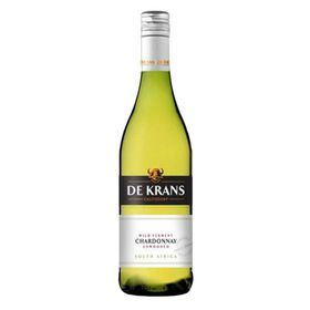De Krans - Wild Ferment Chardonnay Unwooded - 6 x 750ml