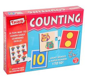 Think Kids Educational Learning Games - Counting Edition