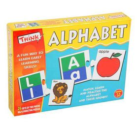Think Kids Educational Learning Games - Alphabet Edition