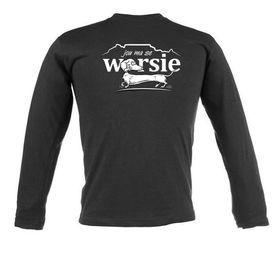 Jou Ma Se Worsie Unisex Long Sleeve T Shirt - Colour Black