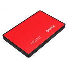 Orico USB 3.0 2.5' Enclosure - Red