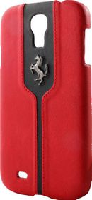 Ferrari Samsung Galaxy S4 Hard Case - Red