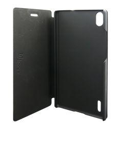 Uunique for Huawei P7 Leather Folio - Black