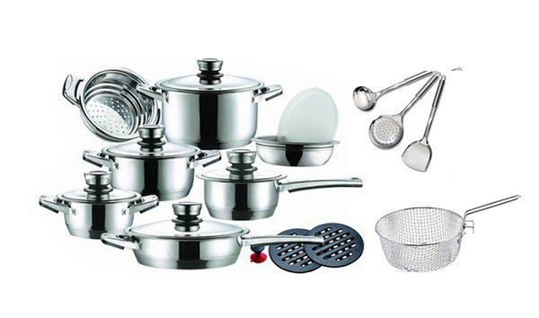 Cookware Sets Leopard 21 Pieces Limited Edition