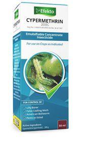 Efekto - Cypermethrin Insecticide - 50ml