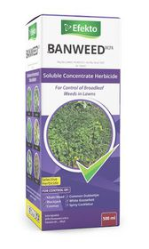 Efekto - Ban-weed MCPA Herbicide - 500ml