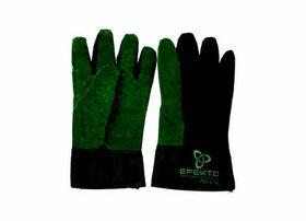 Efekto - Men's Garden Gloves Green Cotton - Medium