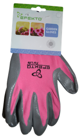 Efekto - Pink Nitrile Gloves - Large
