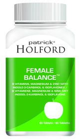 Patrick Holford Female Balance Tabs - 60'S
