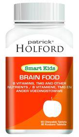 Patrick Holford Smart Kids Brain Food Chew Tabs - 60'S