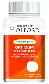 Patrick Holford Smart Kids Optimum Nutr Chew Tabs - 60's