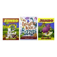 Jumbo Dot-to-Dot & Book of Puzzles