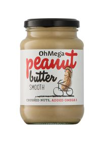 OhMega Peanut butter Smooth - 400g