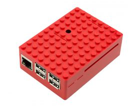 Multicomp Pi-Blox Case - Red