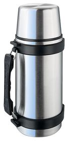 Isosteel - 0.5Litre Quick Slim With Handle - Silver