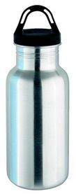Isosteel - 500ml Sports Bottle - Silver