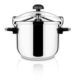 Taurus - Ontime Classic Stainless Steel Pressure Cooker - 8 Litre