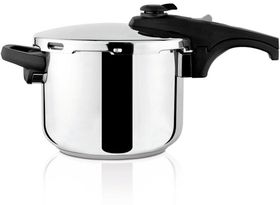 Taurus - Ontime Rapid Stainless Steel Pressure Cooker - 6 Litre