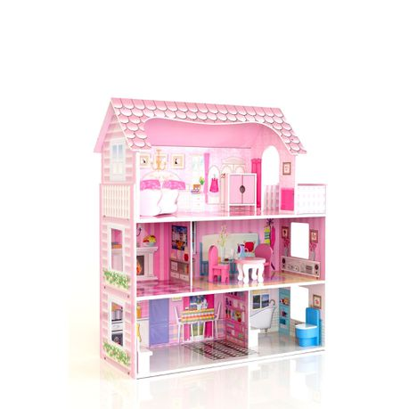 Roly Polyz Wood Lilly S Wooden Doll House Buy Online In South