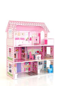 Roly Polys Wood Lilly's Wooden Doll House