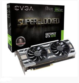 EVGA GeForce GTX1070 8GB SC GDDR5 Graphics Card