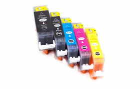 Canon Compatible Ink Combo Pack Black PGI425/425 & Cyan/Magenta/Yellow CLI426/426