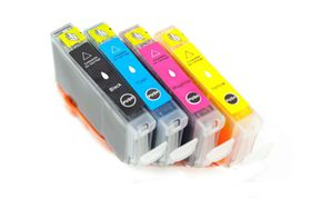 Canon Compatible Ink Combo Pack Black/Cyan/Magenta/Yellow BCI-6