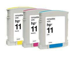 HP Compatible Ink Combo Pack-Cyan/Magenta/Yellow HP11/11