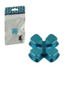 Zedlabz Alloy Metal Directional D Pad Arrow Button - Blue (PS4)