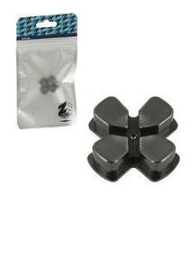 Zedlabz Alloy Metal Directional D Pad Arrow Button - Gun Metal Grey (PS4)