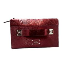 Guess Juliet Clutch Bag in Red
