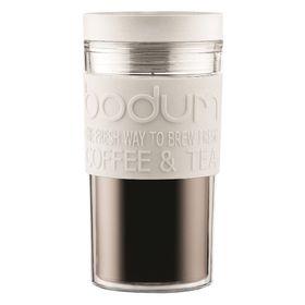 Bodum - 350ml Travel Mug - Off White