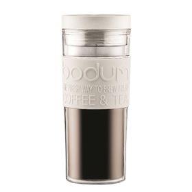 Bodum - 450ml Travel Mug - Off White
