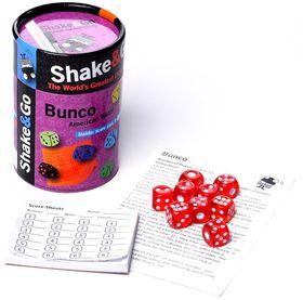 The Purple Cow Shake and Go Bunco