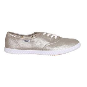 Tomy Ladies Origional Lace Up 589-2174 Silver