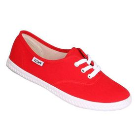 Tomy Ladies Original Lace Up 589-5138 Red