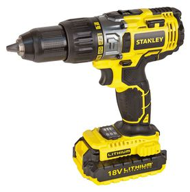 Stanley - 18V Cordless Drill - Yellow