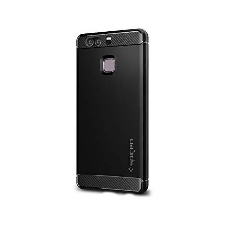 size 40 a67e5 749c6 SPIGEN Rugged Armor Case for Huawei P9 - Black
