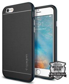 SPIGEN Neo Hybrid Case for iPhone 6s - Metal Slate