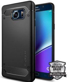 SPIGEN Capsule Rugged Case for Samsung Galaxy Note 5 - Black